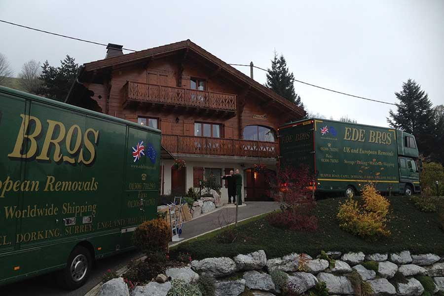 Ede Bros Removal Service Overseas
