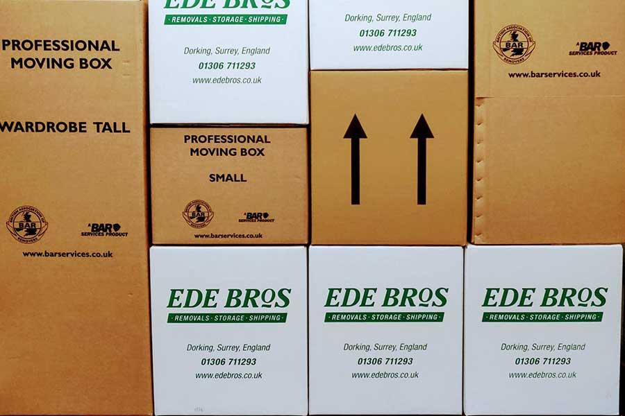 Ede Bros Removals Storage Options
